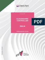 CP R80.40 CloudGuard Controller AdminGuide