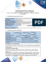 allllGuía de actividades y rúbrica de evaluación - Tarea 3 - Espacios vectoriales