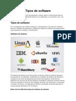 Tipos de software Angel Dario Diaz