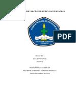 MAKALAH METABOLISME PURIN DAN PIRIMIDIN.docx