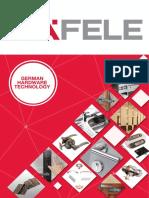 Hafele Distributor Catalog (For Dealers)