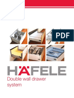 Hafele Double Wall Drawer System