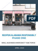 Reopening Alabama Responsibility Phase 1