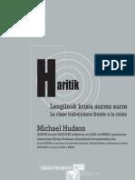 Langileok krisia aurrez aurre / La clase trabajadora ante la crisis MICHAEL HUDSON (2009)