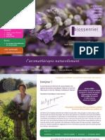 Biossentiel 2018 le catalogu