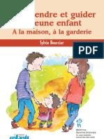 Comprendre Et Guider Le Jeune Enfant - Sylvie Bourcier