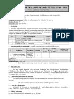DEMANDE DE COTATION CF 04-2018 DD Jacqueville