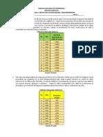 TALLER METODOS DE PROYECCION