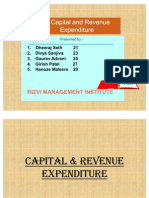 Capital and Revenue Expendituere  ppt