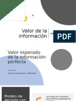 Valor Esperado de la Información Perfecta