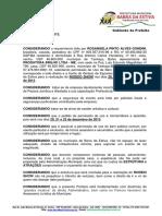 Razões para Permissão de Uso de Bem Público - BA portaria_2013-025