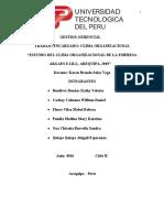 TRABAJO FINAL G. G CLIMA ORGANIZACIONAL 14 julio
