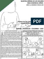 HOJITA DOMINICAL II PASCUA A20