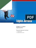 LOGICA JURIDICA UNI4