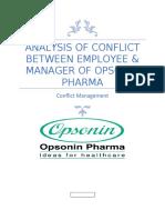 analysis of conflict bbetween employee (1)