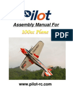 100 Cc Manual Rc Plane