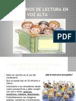 REPERTORIOS DE LECTURA EN VOZ ALTAasa