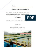 Ptap El Milagro Cajamarca