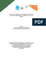 Plantilla Excel Evaluación aspecto  económico del proyecto - Listas chequeo RSE ambiental y social.xlsx