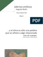 AUGUSTE RODIN - CUADERNOS DE DIBUJO