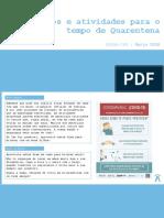 Jogos e atividades para o tempo de Quarentena - CAFAP-CPE