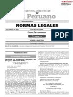 Resolución Ministerial N° 134-2020-EF-15