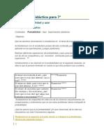 Secuencia Didáctica Matematica probabilidad
