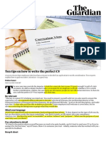 Ten tips on how to write the perfect CV _ Money _ The Guardian.pdf