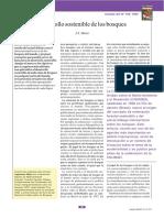 Desarrollo sostenible de los bosques de J.S. Maini – FAO (2002)