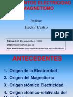 1. Antecedentes Electricidad y Magnetismo