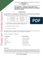 Equipamento de proteção individual ― Calçado isolante elétrico para eletricistas em BT e ambiente seco - 67451f08c05e57c29b767d6dea64a8ea