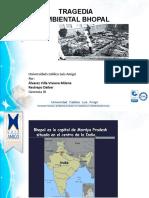 DESASTRE NATURAL BHOPAL