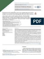 Os níveis de neopterina e as proporções Kyn / Trp aumentaram significativamente em pacientes com vírus da dengue e subsequentemente diminuíram após a recuperação