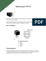 Sensores de Infrarrojos CNY70 HUMEDAD
