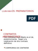 SEMANA 16 CONTRATOS PREPARATORIOS