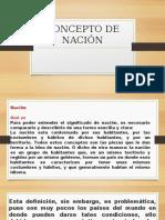 CONCEPTO DE NACIÓN