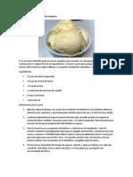 Receta de helado casero sin máquina