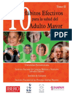 10 habitos efectivos para la salud del adulto mayor, vol II