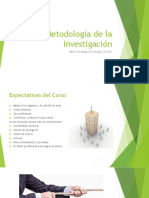 Presentación Tutoria 1 Metodología Investigación