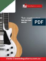 Como hacer tapping en guitarra