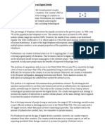 Position Paper of Honduras on Digital Divide