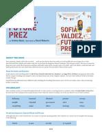 Sofia Valdez, Future Prez Teaching Guide