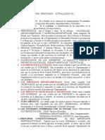 MATERIAL GLOSARIO  DE  D.  TRIBUTARIO 2011.doc