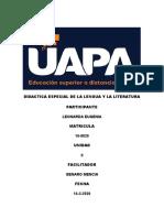 DIDACTICA ESPECIAL DE LA LENGUA Y LA LITERATURA 2.docx