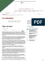'Haja o que hajar' - 11_04_2013 - Pasquale - Ex-Colunistas - Folha de S.Paulo