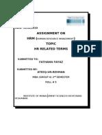 Final Assignment HRM