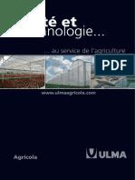 Serres Multichapelle ULMA Agricola