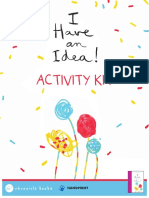 I Have An Idea Activity Sheets Kit