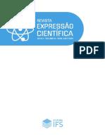 Revista Expressão Científica 2018.2-IFS