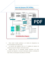 Diagrama de bloques PIC16F84a
